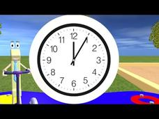 Telling Time For Children—Learning the Clock Video