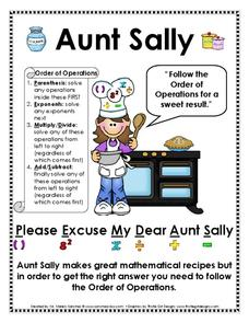 Aunt Sally Poster Printables & Template