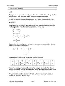 Graphing Integers Lesson Plans Worksheets Reviewed By Teachers