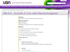 Fun With Electromagnets Lesson Plan