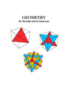 Geometry for the High School Classroom Unit