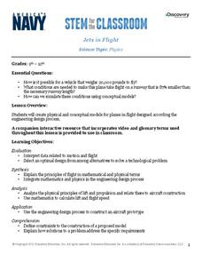 Jets in Flight Lesson Plan