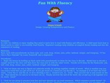 Fun With Fluency Lesson Plan