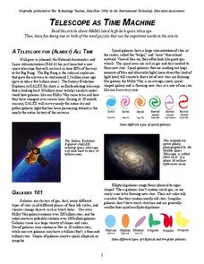 Telescope as Time Machine Handouts & Reference