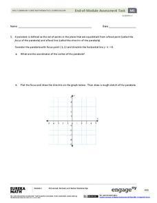 vertex form of parabola lesson plans worksheets. Black Bedroom Furniture Sets. Home Design Ideas
