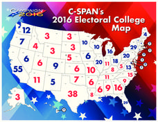 2016 Electoral College Map Handouts & Reference