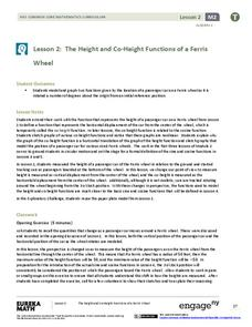 The Height and Co-Height Functions of a Ferris Wheel Lesson Plan
