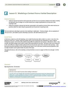 Modeling a Context from a Verbal Description (part 2) Assessment