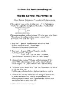 Ratios and Proportional Relationships 7th Grade Worksheet | Lesson ...