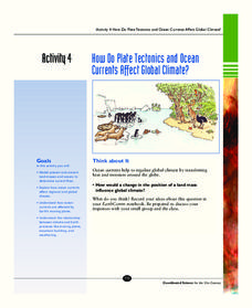 How Do Plate Tectonics and Ocean Currents Affect Global Climate? Activities & Project