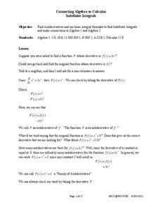 Indefinite Integrals Handouts & Reference