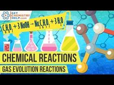 Chemistry Lesson: Gas Evolution Reactions Video