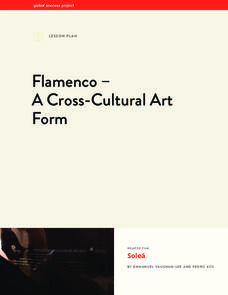 Flamenco: A Cross-Cultural Art Form Lesson Plan
