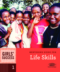 Girls' Success: Mentoring Guide For Life Skills Handouts & Reference