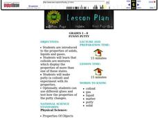 Funny Putty Lesson Plan