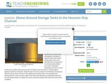 Above-Ground Storage Tanks in the Houston Ship Channel Lesson Plan