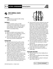 Zoo Animal Cages Activities & Project
