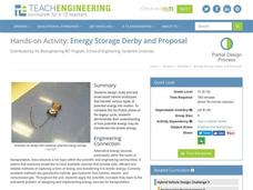 Energy Storage Derby and Proposal Activities & Project