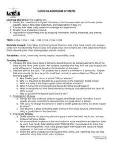 No David Classroom Behavior Sort - Rules (Back to school ...