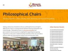 Philosophical Chairs Lesson Plan