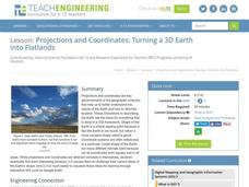 Projections and Coordinates: Turning a 3D Earth into Flatlands Lesson Plan