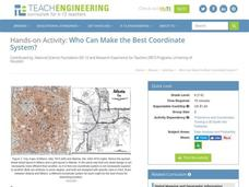 Who Can Make the Best Coordinate System? Activities & Project