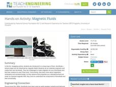 Magnetic Fluids Activities & Project