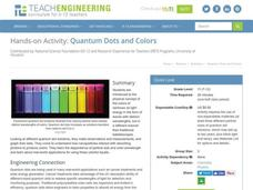 Quantum Dots and Colors Activities & Project
