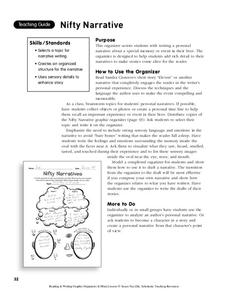 Nifty Narrative Worksheet
