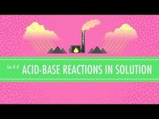 Acid-Base Reactions in Solution Video