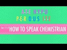 How To Speak Chemistrian Video