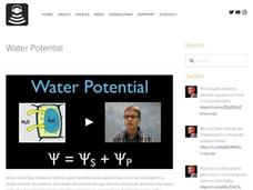 Water Potential Video
