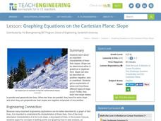 Graphing Equations on the Cartesian Plane: Slope Lesson Plan