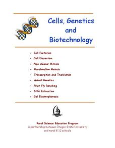 Cells, Genetics, and Biotechnology Unit
