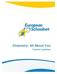Chemistry: All About You Unit