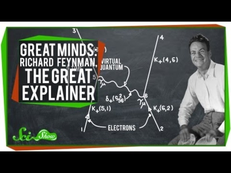 Great Minds: Richard Feynman, The Great Explainer Video