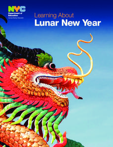 Learning About Lunar New Year Lesson Plan