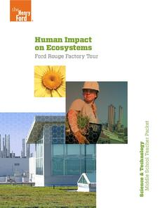 Human Impact on Ecosystems Unit
