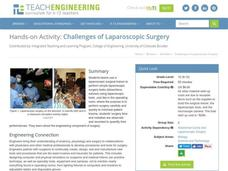 Challenges of Laparoscopic Surgery Activities & Project