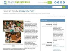 Creepy Silly Putty Activities & Project