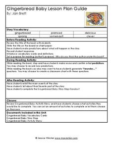 Gingerbread Baby Lesson Plan Guide Lesson Plan