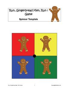 Run, Gingerbread Men, Run!—Game Learning Game