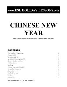 chinese new year esl lesson writing prompt for 9th 12th grade lesson planet. Black Bedroom Furniture Sets. Home Design Ideas