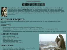 Gargoyles Lesson Plan