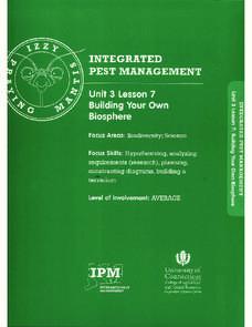 biosphere lab report