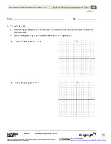 End-of-Module Assessment Task - Algebra 2 (Module 3) Assessment