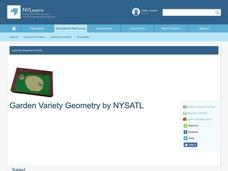 Garden Variety Geometry Lesson Plan