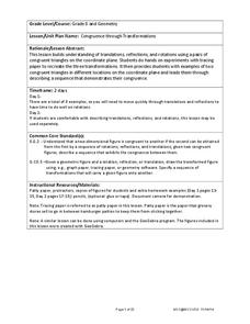 Congruence Through Transformations Lesson Plan
