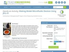 Making Model Microfluidic Devices Using JELL-O Activities & Project