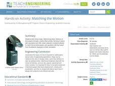 Matching the Motion Worksheet